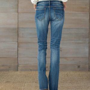 Sundance Pants - Driftwood Aubrey Kelly Strawberry Blossom Jeans